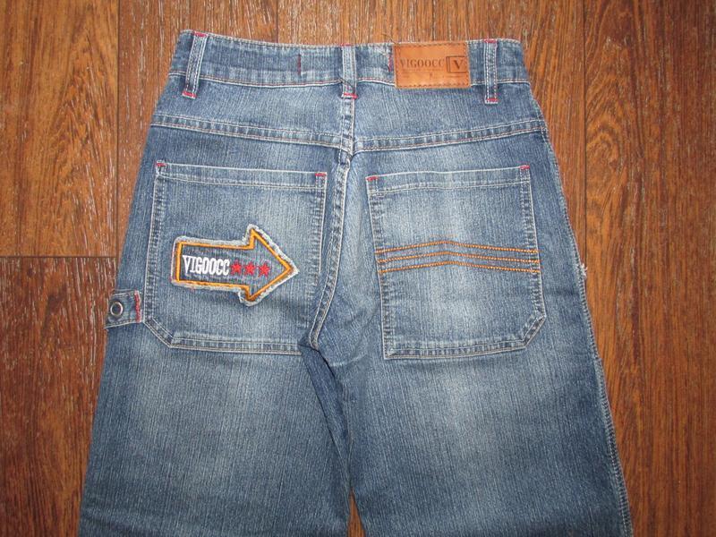 Брендовые джинсы vigoocc. оригинал!  р-р 26 - Фото 2