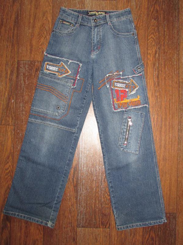 Брендовые джинсы vigoocc. оригинал!  р-р 26 - Фото 3