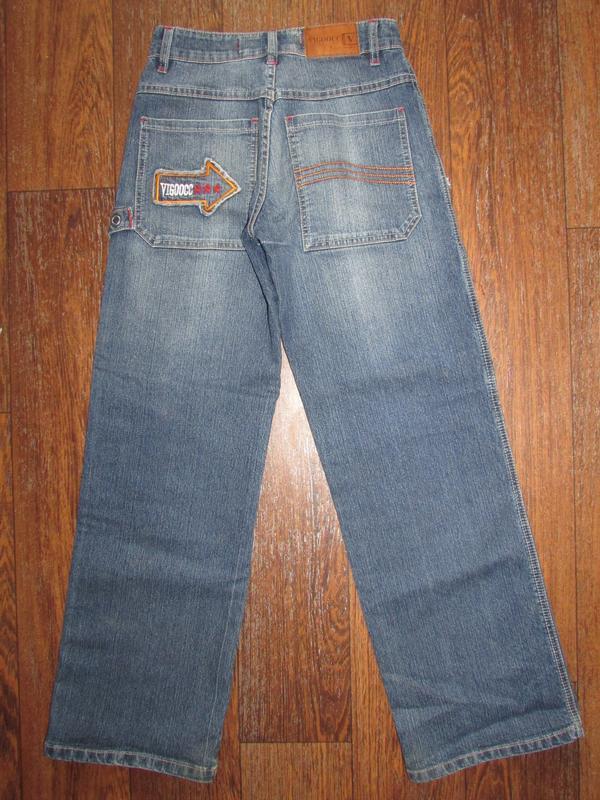 Брендовые джинсы vigoocc. оригинал!  р-р 26 - Фото 4