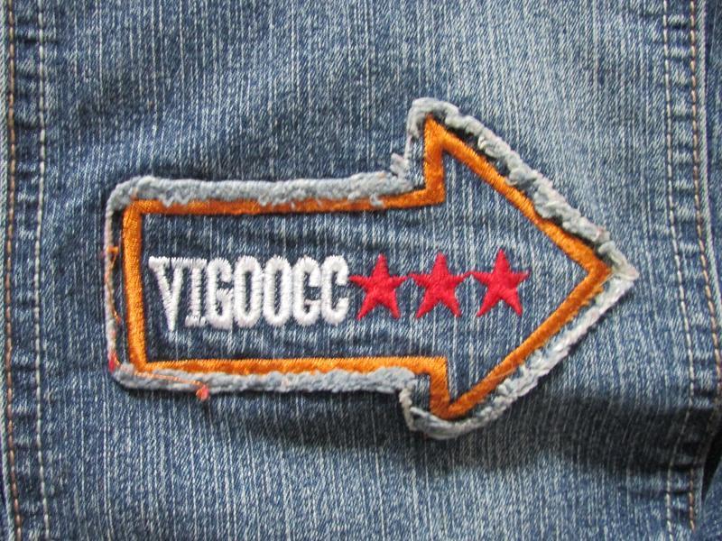 Брендовые джинсы vigoocc. оригинал!  р-р 26 - Фото 5