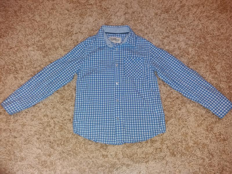 Рубашечка на хлопчика