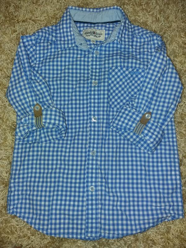 Рубашечка на хлопчика - Фото 2
