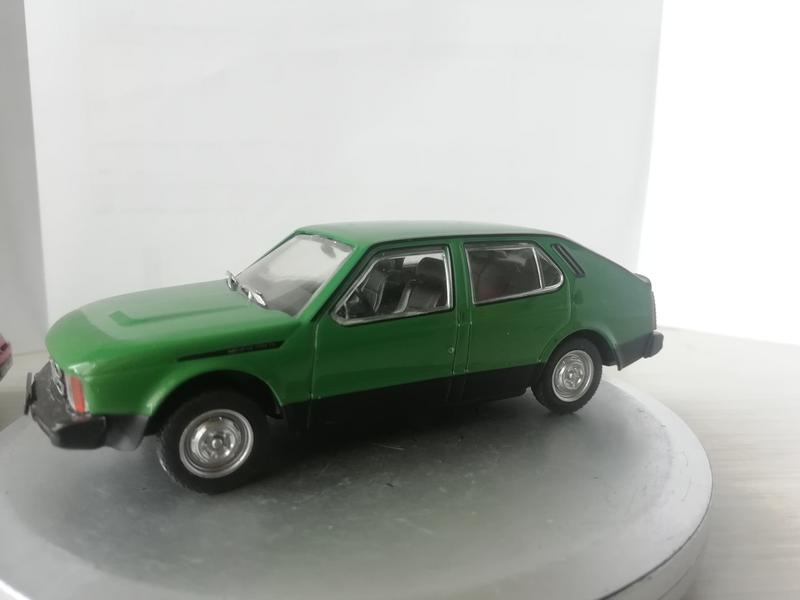 Модель Москвич С1 1:43