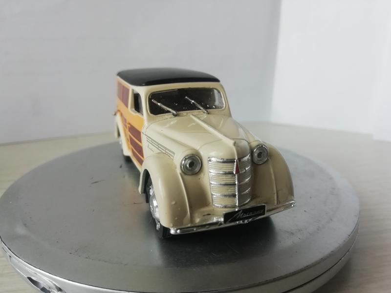 Модель Москвич 400-422 Фургон 1:43