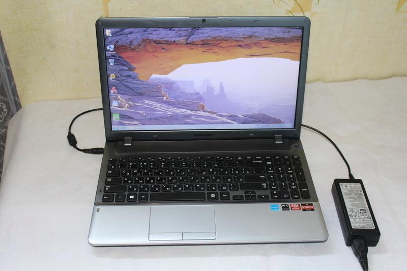 Игровой быстрый ноутбук Samsung NP355V5C для танков World of Tank