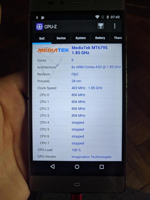 Телефон Elephone vowney на детали