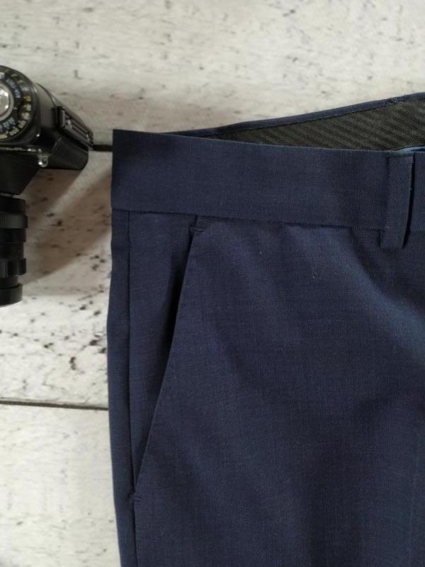 Брюки синие классика 50 размер  C&A - Фото 3