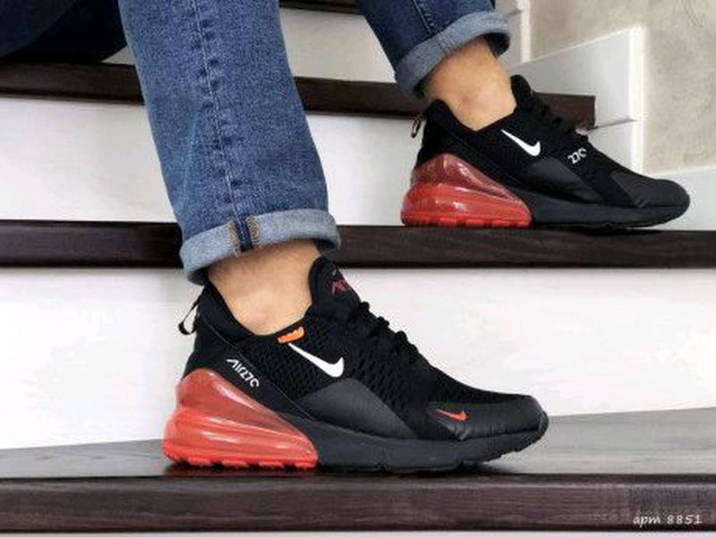 Мужские кроссовки черные Nike Air Max 270 8851