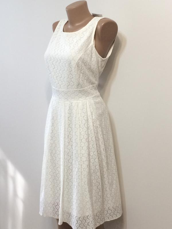 Нарядное кружевное платье dunnes, р.12 - Фото 2
