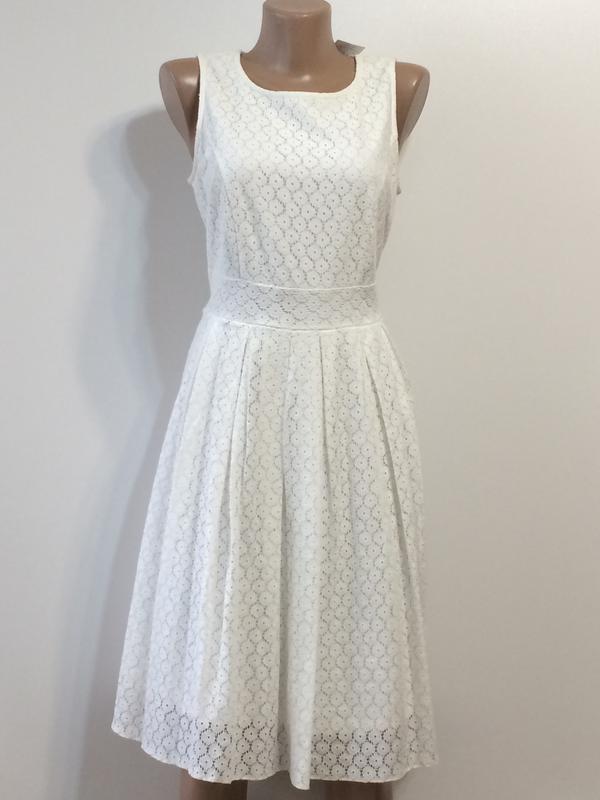 Нарядное кружевное платье dunnes, р.12 - Фото 3
