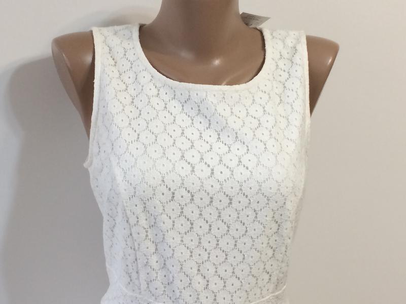 Нарядное кружевное платье dunnes, р.12 - Фото 4