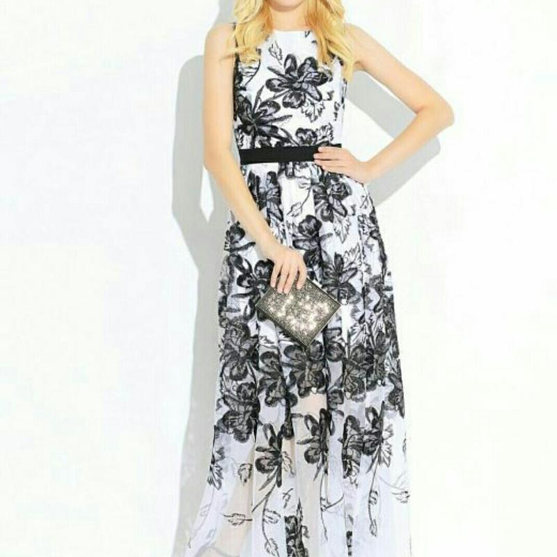 Платье в пол - Фото 4