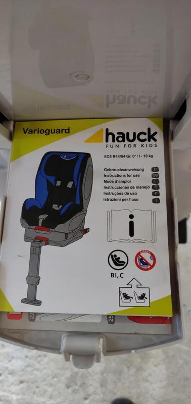 Hauck Varioguard (black/pink)
