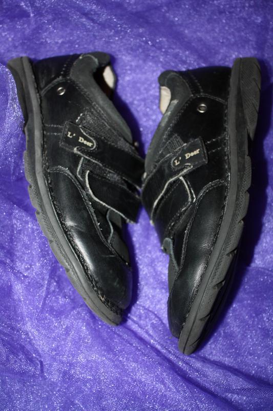 Кожанные фирменные b&g туфли р-33, в хорошем состоянии - Фото 2