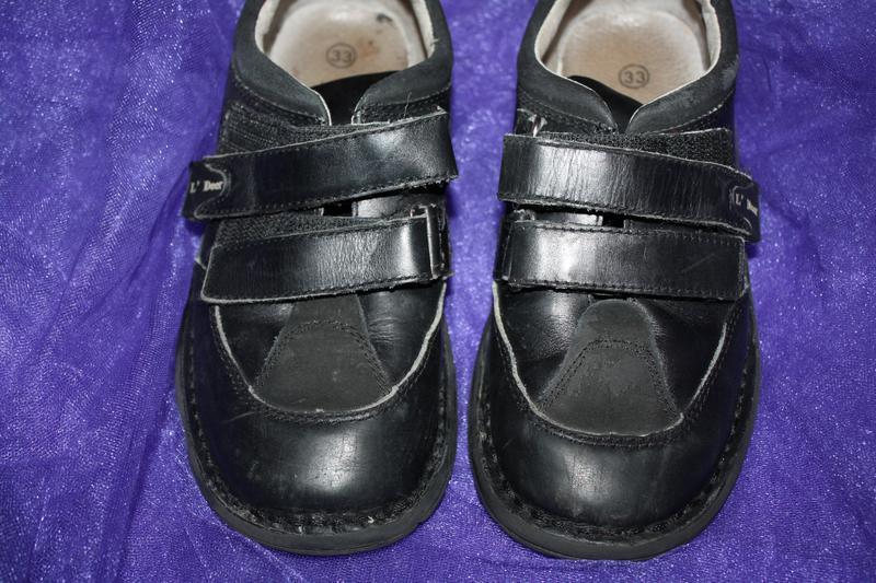 Кожанные фирменные b&g туфли р-33, в хорошем состоянии - Фото 3