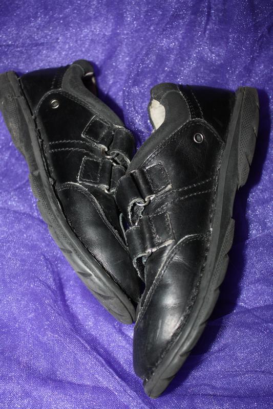 Кожанные фирменные b&g туфли р-33, в хорошем состоянии - Фото 5