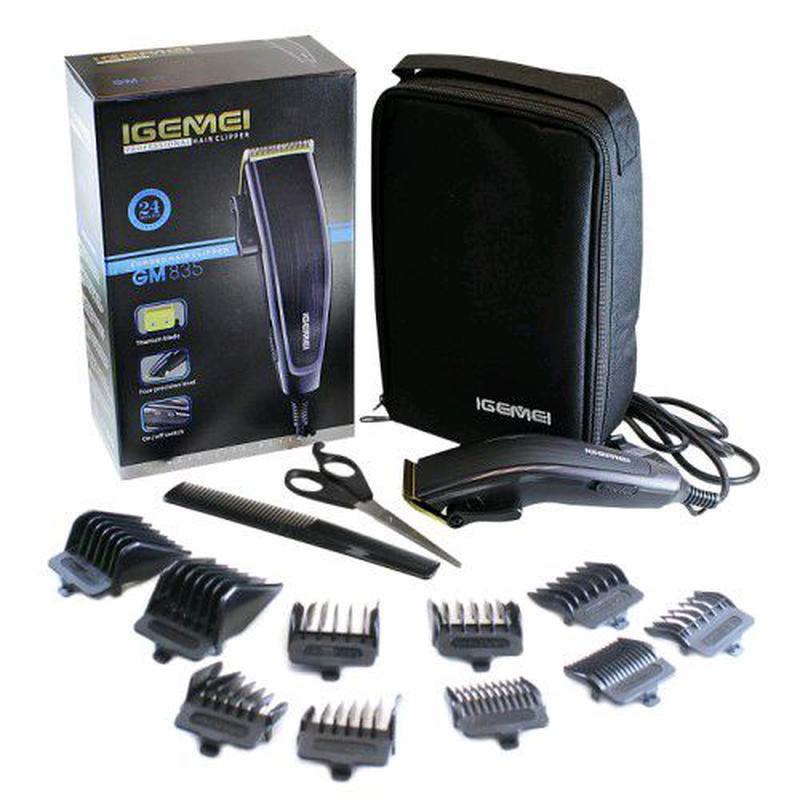 Профессиональная машинка для стрижки волос Gemei GM 835