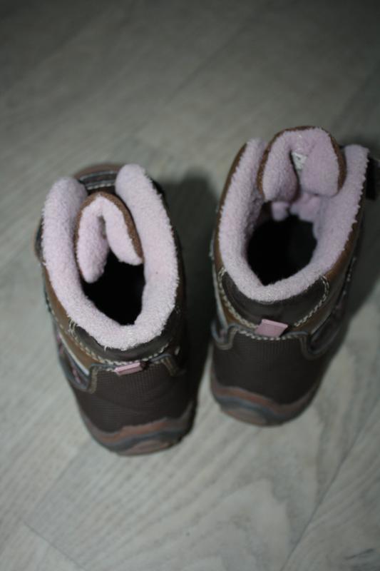 Зимние кожаные ботинки ф.lupilu р-27 евр-9 в хорошем состоянии - Фото 2