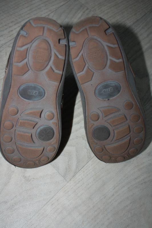 Зимние кожаные ботинки ф.lupilu р-27 евр-9 в хорошем состоянии - Фото 3