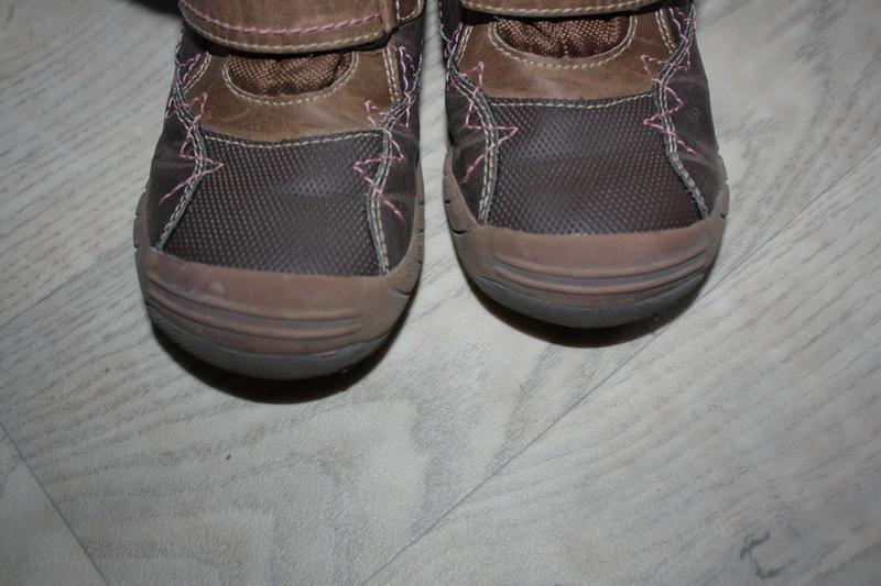 Зимние кожаные ботинки ф.lupilu р-27 евр-9 в хорошем состоянии - Фото 5