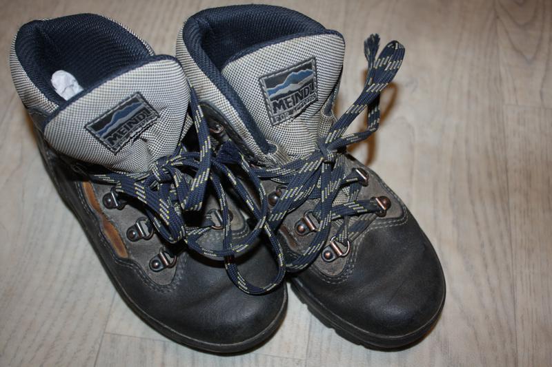 Зимние кожаные ботинки ф.meindl р-32 в хорошем состоянии