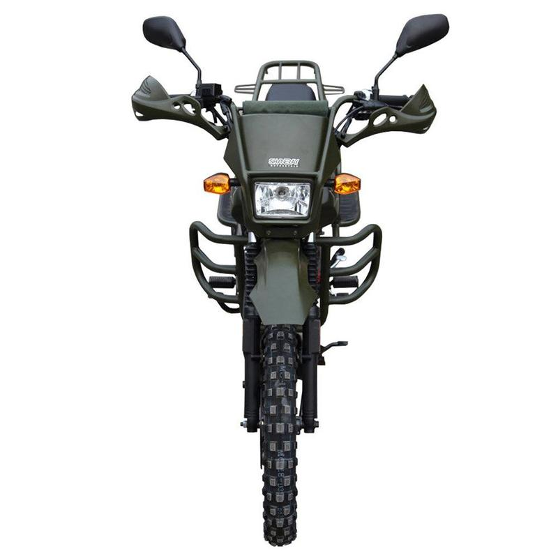 Мотоцикл Shineray XY 150 Forester, green