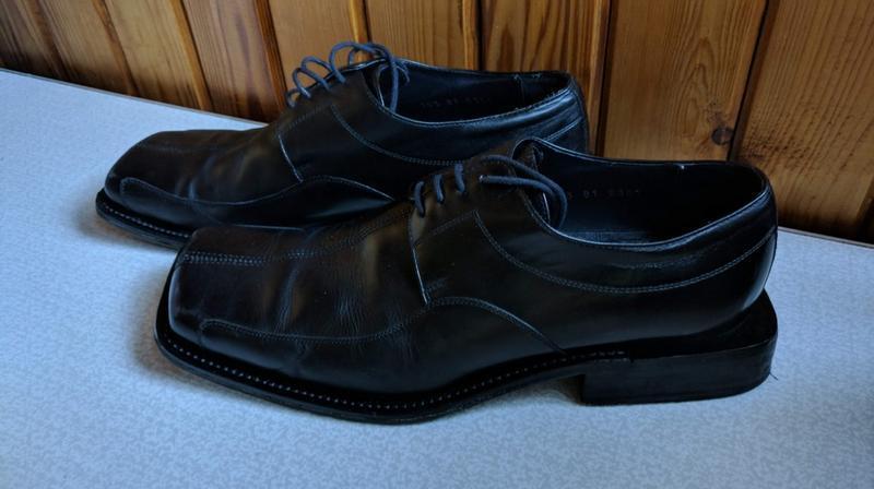 Туфли мужские р 42 gino rossi с квадратным носком