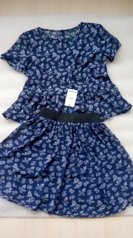 Новая легкая юбка - Фото 2