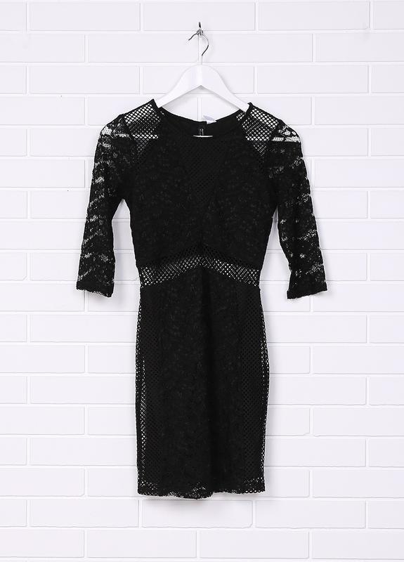 Новое кружевное нарядное платье h&m - Фото 3