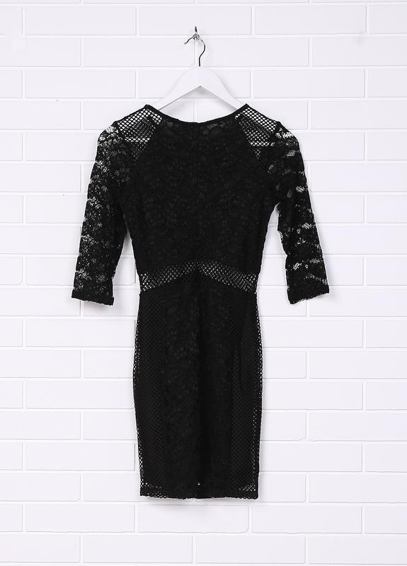 Новое кружевное нарядное платье h&m - Фото 4