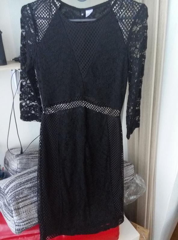 Новое кружевное нарядное платье h&m - Фото 5