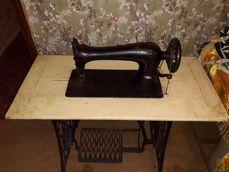 Швейная машинка SINGER 1912г. Шотландия