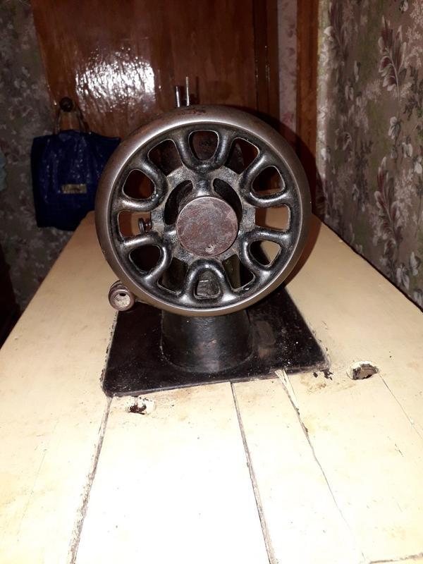 Швейная машинка SINGER 1912г. Шотландия - Фото 2