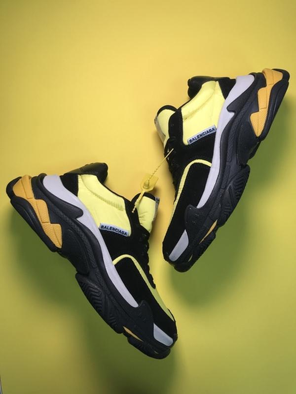 🔥новинка🔥  мужские кроссовки топ качества  triple s v2 black y... - Фото 2