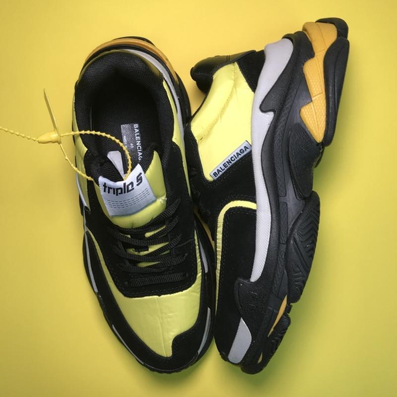 🔥новинка🔥  мужские кроссовки топ качества  triple s v2 black y... - Фото 3