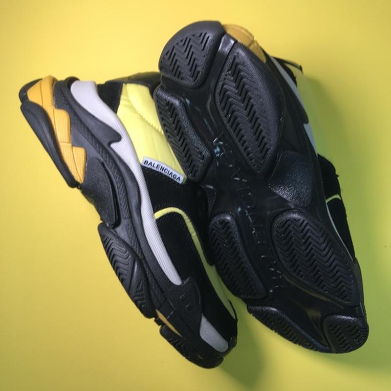 🔥новинка🔥  мужские кроссовки топ качества  triple s v2 black y... - Фото 4