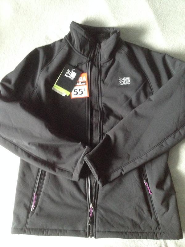 Куртка-ветровка softshell женская karrimor glacier.100% оригин...