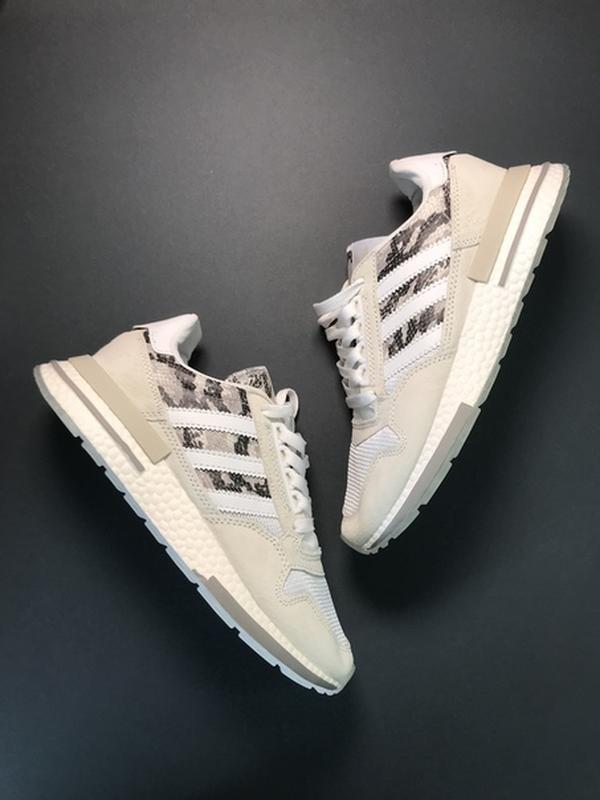 🌹новинка🌹 женские кроссовки adidas zx 500 rm grey camo - Фото 2