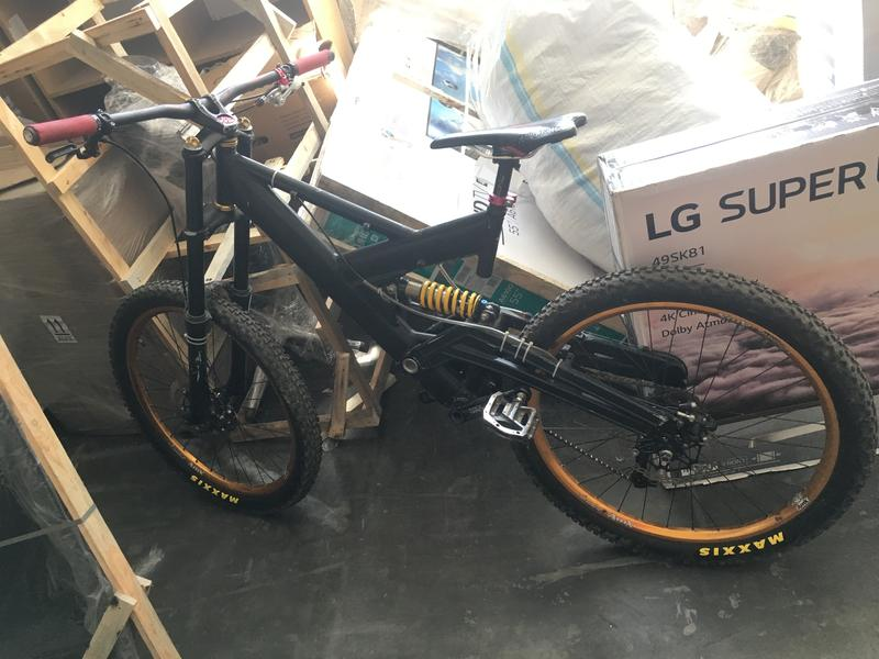 Велосипед для Dh,Fr