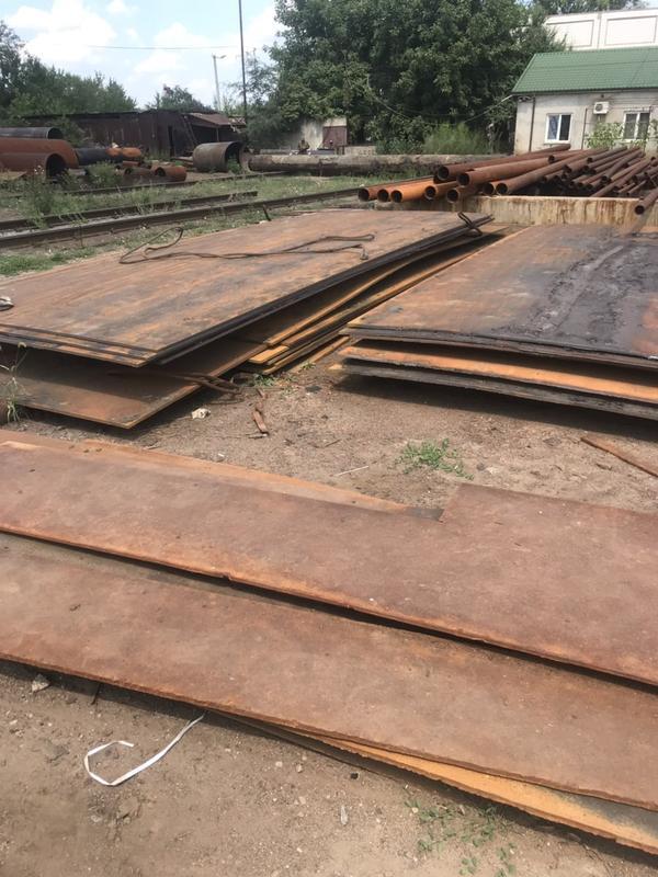 Листовой металл б/у, стальной лист, сталь листовая