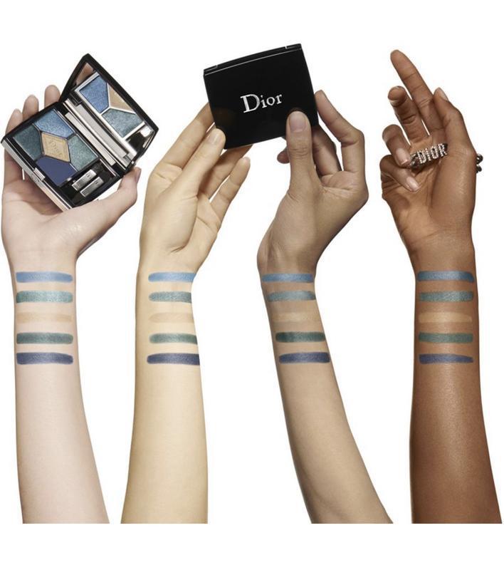 Dior - 5 couleurs eyeshadow palette  в оттенке 279 denim - Фото 3