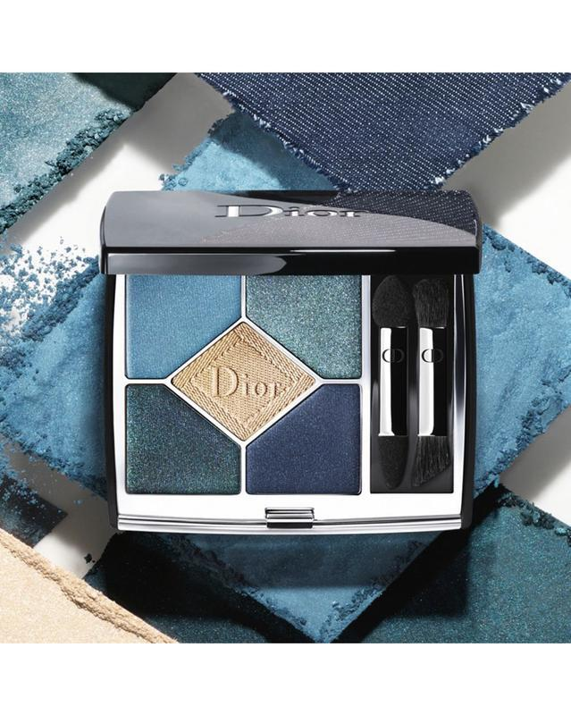 Dior - 5 couleurs eyeshadow palette  в оттенке 279 denim - Фото 5
