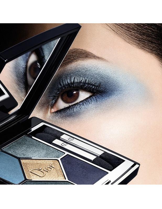 Dior - 5 couleurs eyeshadow palette  в оттенке 279 denim - Фото 6