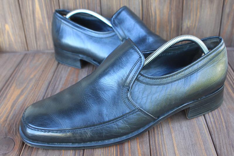 Туфли bally goodyear кожа швейцария 46,5р лоферы мокасины