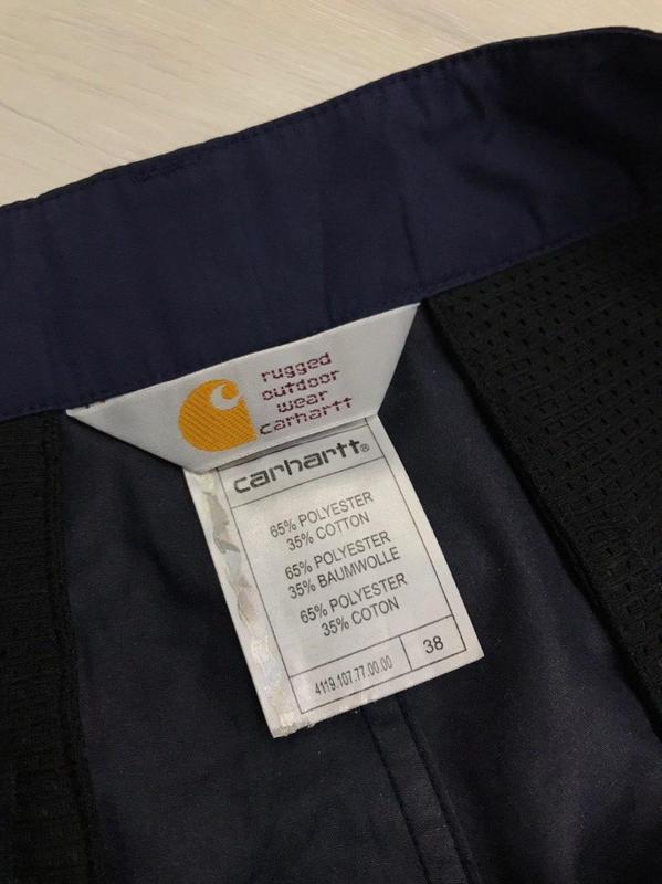 Карго шорты carhartt - Фото 7