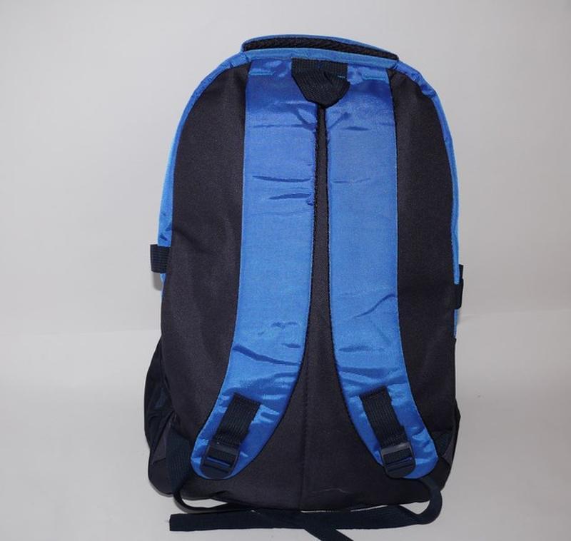 Рюкзак молодежный синий - Фото 2