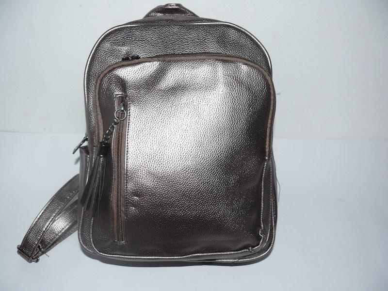 Рюкзак молодежный серебро