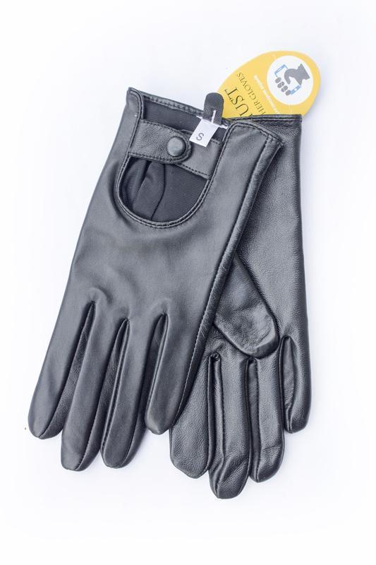 Женские кожаные перчатки сенсорные