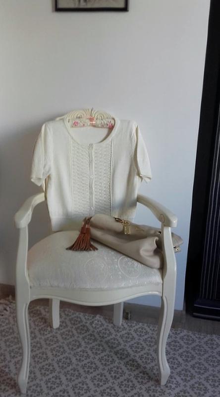 Розпродаж!мастхев кроп-свитер кардиган ажурной вязки/h&м/корот... - Фото 5