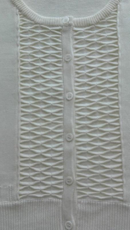Розпродаж!мастхев кроп-свитер кардиган ажурной вязки/h&м/корот... - Фото 3